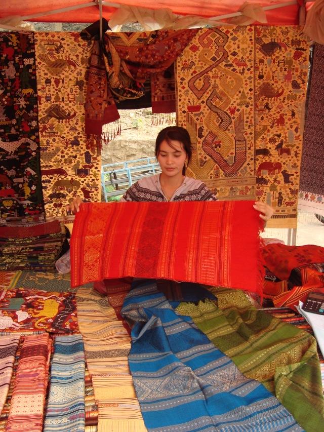caras y colores de Luang Prabang
