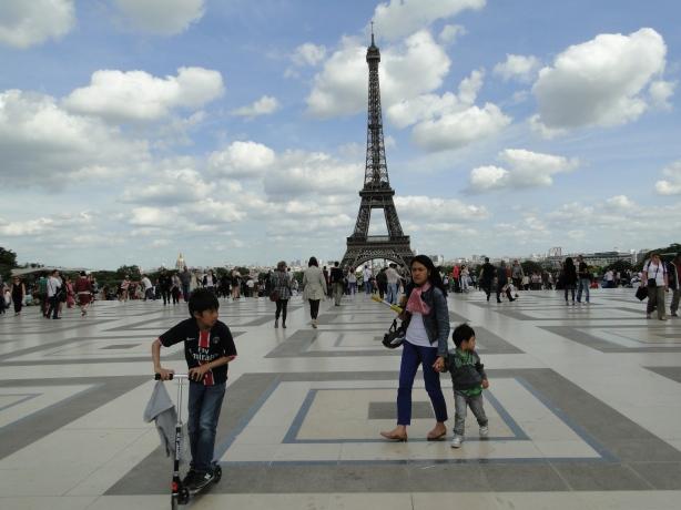 el cielo de Paris