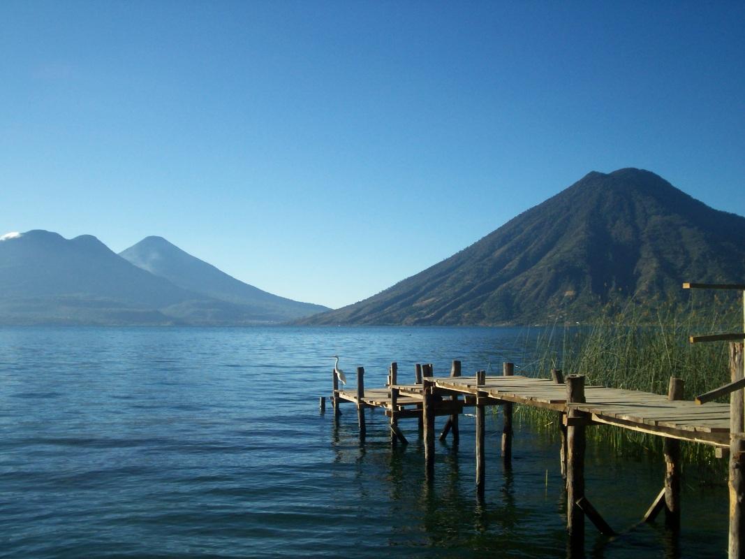 Lago Atitlan, del lado tranqui de San Marco