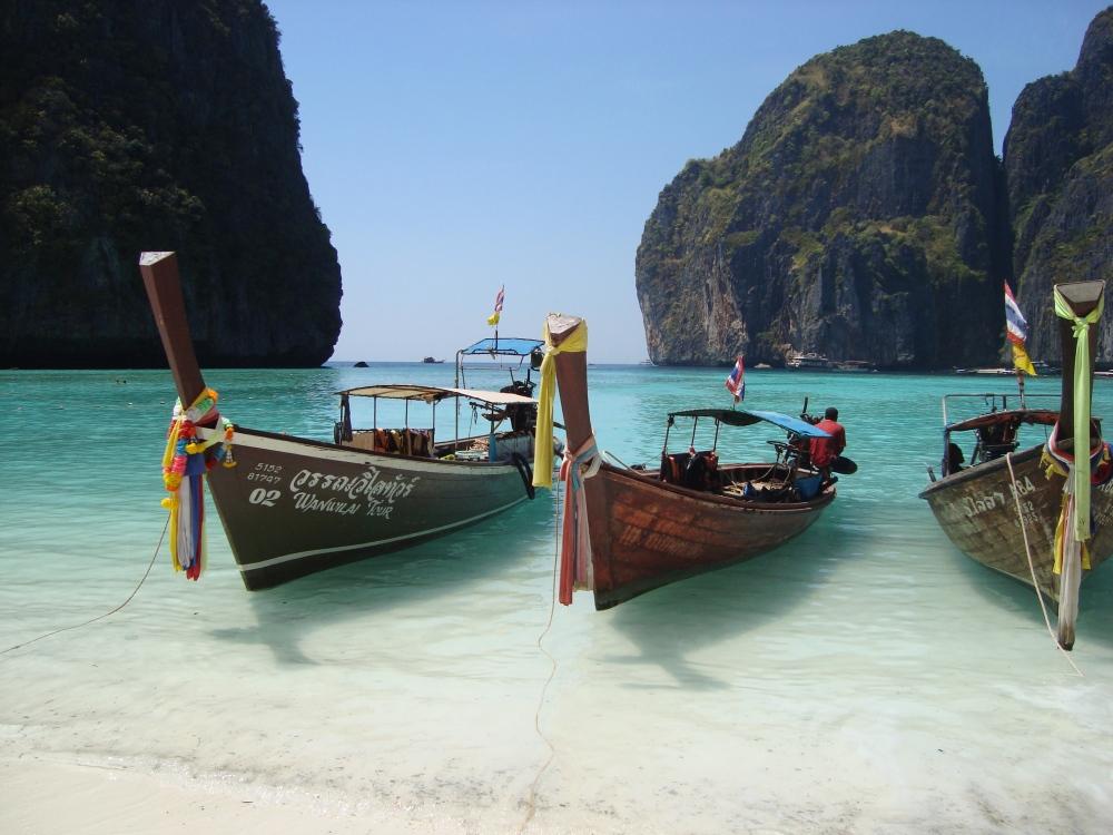 1. Ko Phi Phi, Tailand