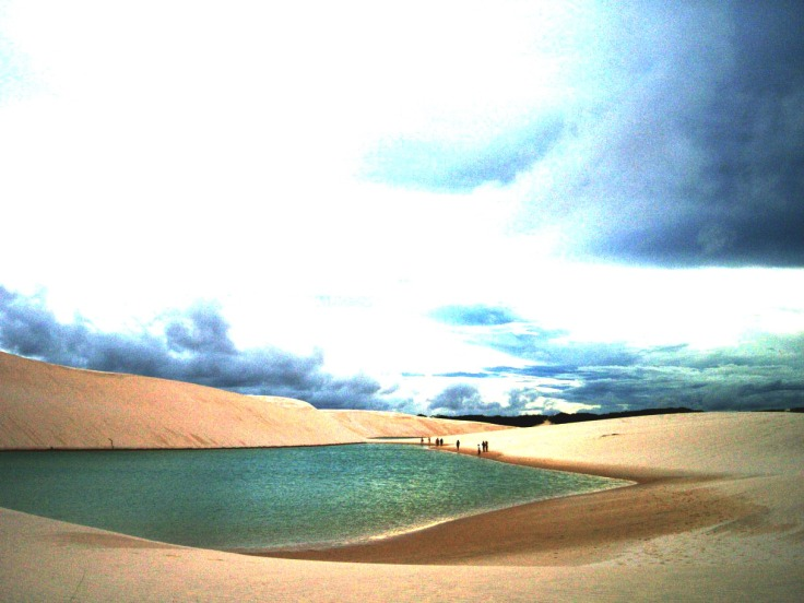 1. Parque Nacional Dos Lencois, Brasil