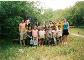 comunidad pilaga junto a la comunidad geopibes