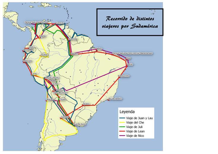Recorridos por Sudamérica 4