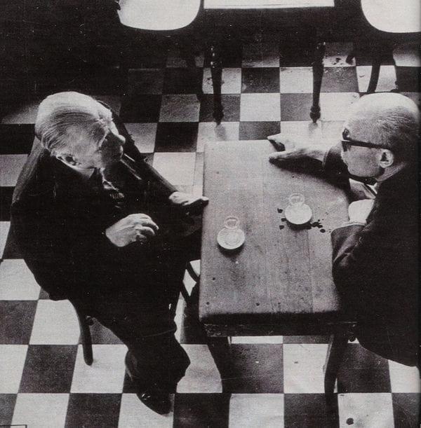 Sabato y Borges