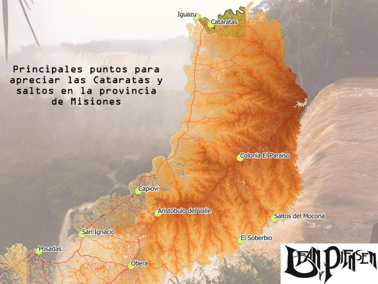 Iguazu mapa