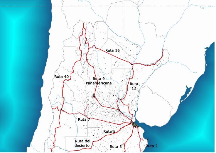 Rutas argentinas Norte