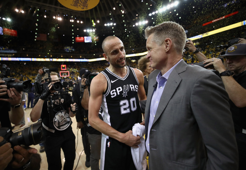 San Antonio Spurs v Golden State Warriors - Game Five
