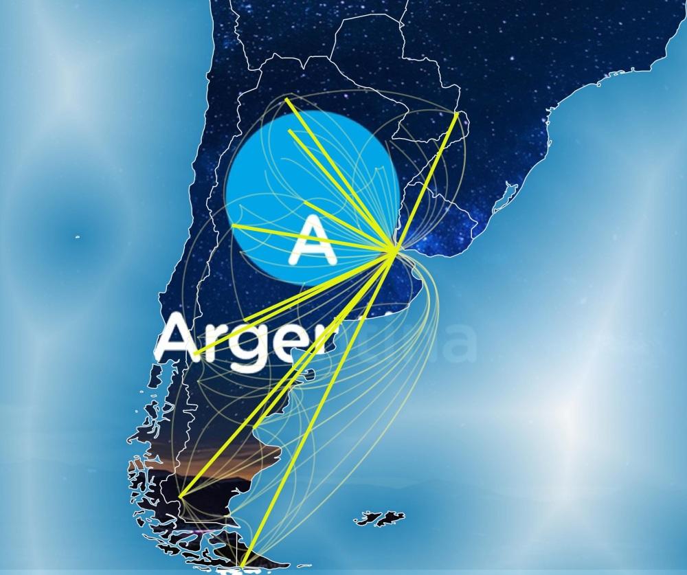 Rutas aéreas argentinas 2