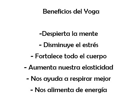 Beneficios de Yoga