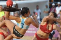 juegos Olímpicos de la juventud bs as Argentina medalla de Oro en Beach Handball femenino