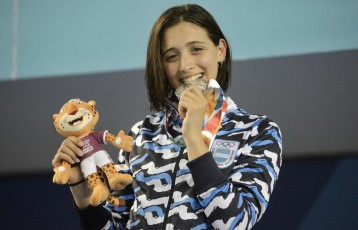 Juegos Olímpicos de la Juventud. Natación Delfina Pignatiello Fotos Emmanuel Fernández